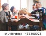 Cute Playful Preschooler Child...