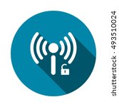 wifi icon vector   Shutterstock .eps vector #493510024