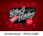 black friday sale banner | Shutterstock .eps vector #493511089