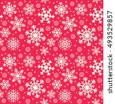 snowflake christmas and new... | Shutterstock .eps vector #493529857