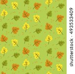 seamless pattern with the... | Shutterstock .eps vector #493533409