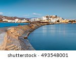 View Of The Naxos Town Over Th...