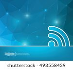 abstract creative concept... | Shutterstock .eps vector #493558429