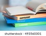 copyright concept | Shutterstock . vector #493560301