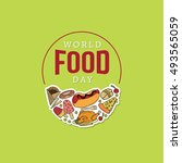 World Food Day Vector...