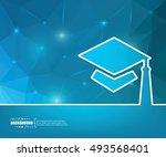 abstract creative concept... | Shutterstock .eps vector #493568401