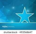 abstract creative concept... | Shutterstock .eps vector #493568647