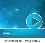 abstract creative concept... | Shutterstock .eps vector #493569811