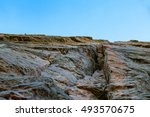 Rocky Cliff Or Rock Formation...