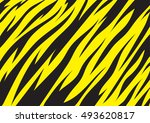 tiger texture abstract... | Shutterstock .eps vector #493620817