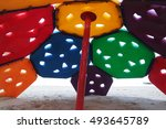 colored toys | Shutterstock . vector #493645789