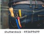 Tool Kit In Jean Pocket