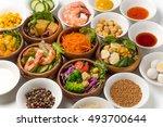 salad | Shutterstock . vector #493700644