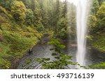 Behind A Waterfall  Stream ...