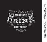 vector quote typographical... | Shutterstock .eps vector #493735774