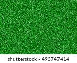 green glitter texture... | Shutterstock .eps vector #493747414