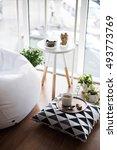 scandinavian style hipster... | Shutterstock . vector #493773769