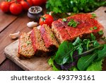 Homemade Ground Meatloaf With...