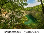 Small photo of Mala Amerika (Small America, Czech Grand Canyon) is a partly flooded, abandoned limestone quarry near Morina village, in the Central Bohemian Region of the Czech Republic
