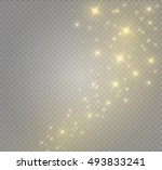 glow light effect. vector... | Shutterstock .eps vector #493833241