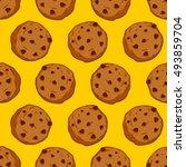 Cookies Seamless Pattern....