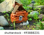 Construction Of Toy Brick House