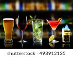 selection of best selling...   Shutterstock . vector #493912135