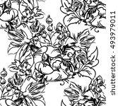 abstract elegance seamless...   Shutterstock . vector #493979011