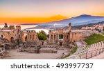 The  Greek Theater Of Taormina...