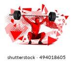 lifter | Shutterstock .eps vector #494018605