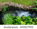 Decorative Pond With Fountain...