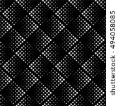vector seamless pattern. modern ... | Shutterstock .eps vector #494058085