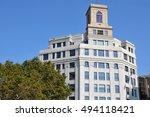 barcelona  spain   september 30 ... | Shutterstock . vector #494118421