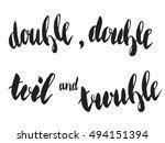 """Halloween Quote  """"double ..."""