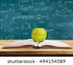 book. | Shutterstock . vector #494154589