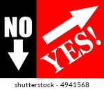 no or yes | Shutterstock . vector #4941568