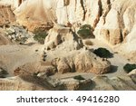 Bible Desert With Caves On The...