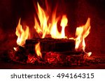 close up shot of burning...   Shutterstock . vector #494164315