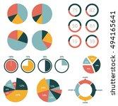 infographic elements  pie chart ...