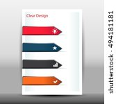 vector illustration of modern... | Shutterstock .eps vector #494181181