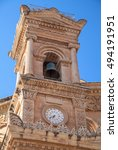 Belfry On Mosta Dome  Malta