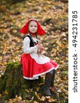 little red riding hood in the... | Shutterstock . vector #494231785