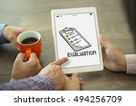 evaluation concept | Shutterstock . vector #494256709