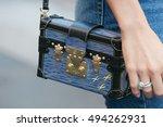 milan   september 25  woman... | Shutterstock . vector #494262931
