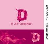 creative logo corporate... | Shutterstock .eps vector #494299525