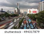 jakarta  indonesia   april 18 ...   Shutterstock . vector #494317879