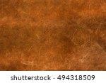 brown canvas texture background. | Shutterstock . vector #494318509