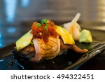 sushi japanese food | Shutterstock . vector #494322451