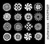 ethnic handmade ornament for...   Shutterstock .eps vector #494399689