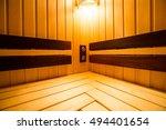 sauna | Shutterstock . vector #494401654